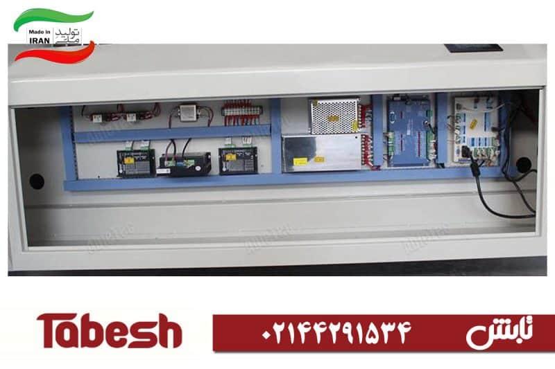 بخش برق و فرمان دستگاه لیزر Tabesh